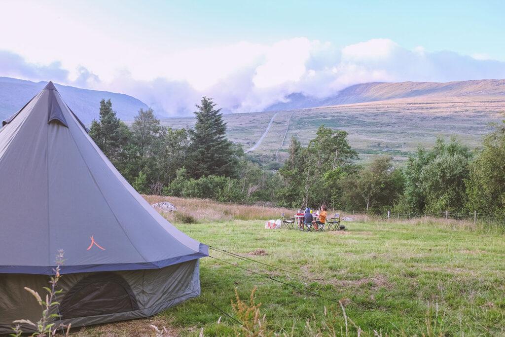 De route van Elke: Kamperen in Wales met kinderen