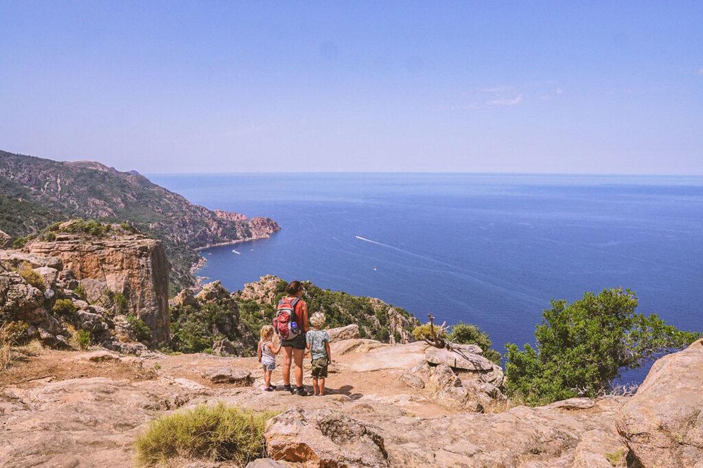 De route van Maria: Corsica met tent en kinderen