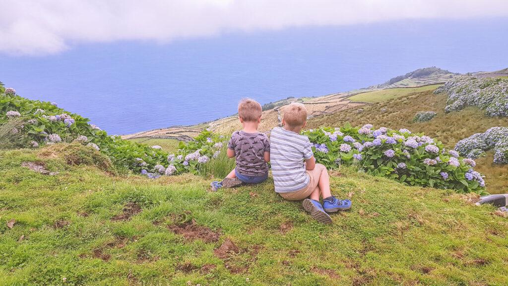 De route van Leen: Azoren met kinderen