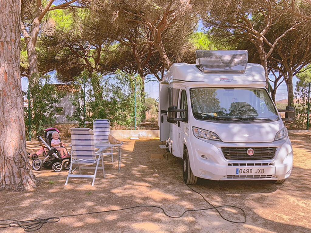 De route van Vivian in Zuid-Spanje