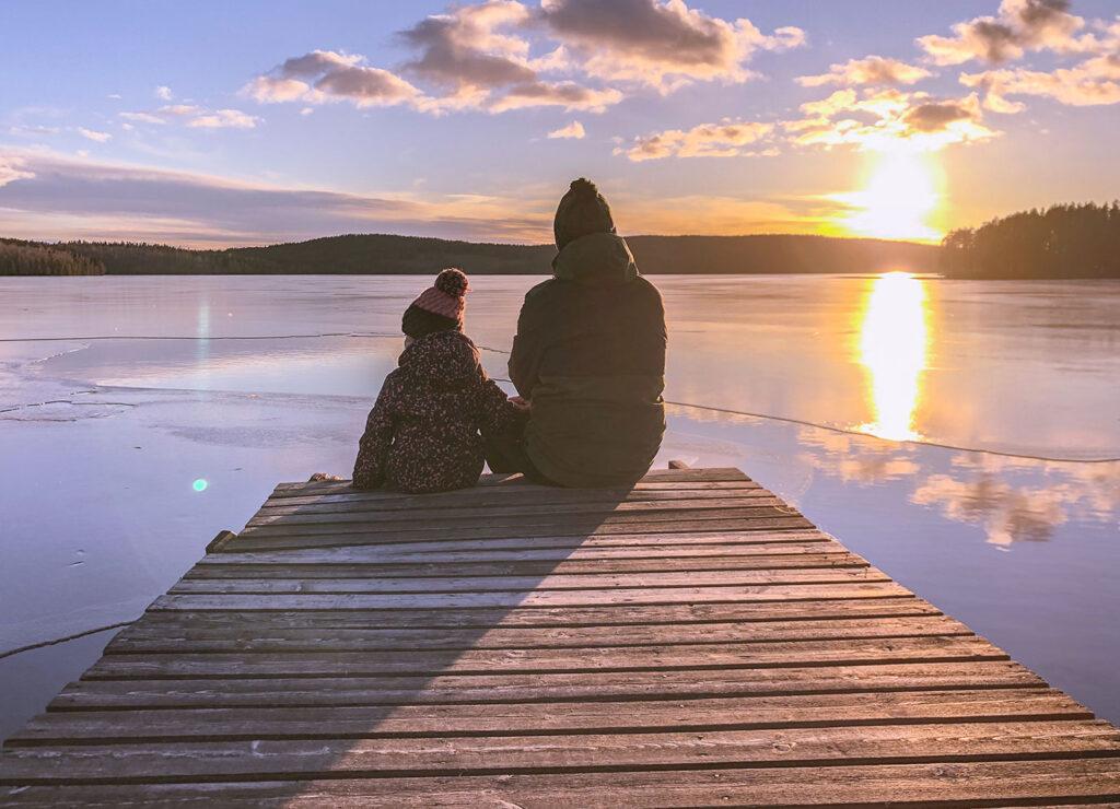 Zweden in de winter – van ijsvissen tot sledehondentocht