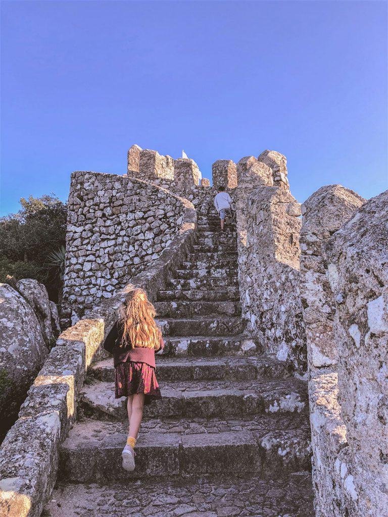 Sintra met kinderen - Castello dos Mouros