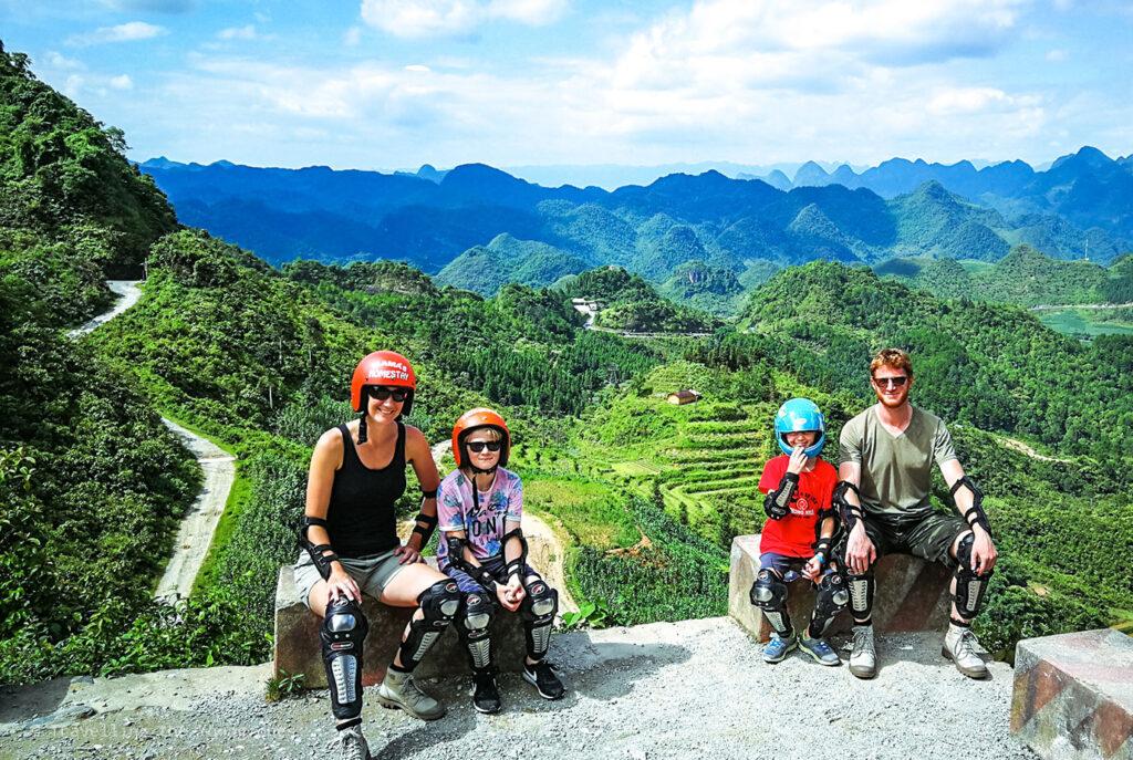 Inspirerend gezin – Een lange reis door Azië met leerplichtige kinderen