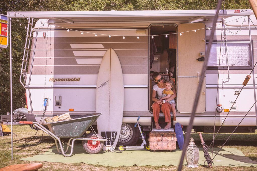 Inspirerend gezin: Een reizende camping beginnen voor gezinnen