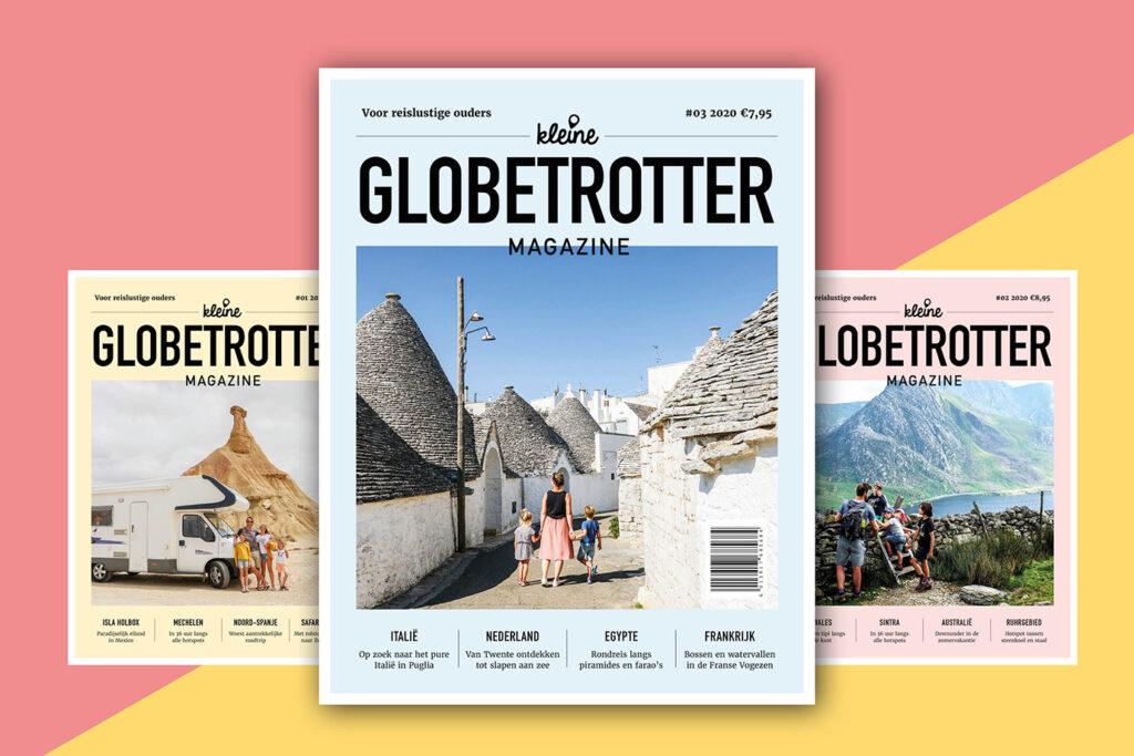 Kleine Globetrotter Magazine editie 3 komt eraan
