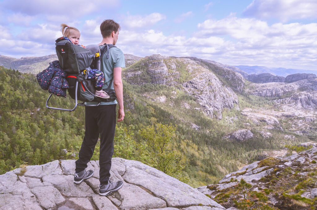 Route van Rosaline: camperrondreis door Noorwegen