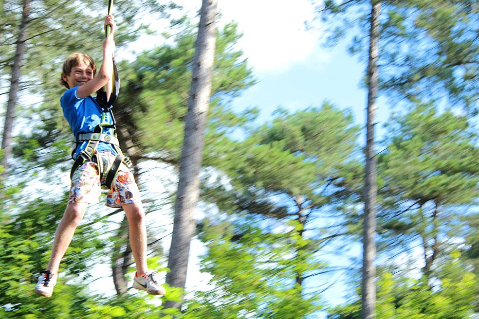 Schouwen-Duiveland met kinderen - klimparcours