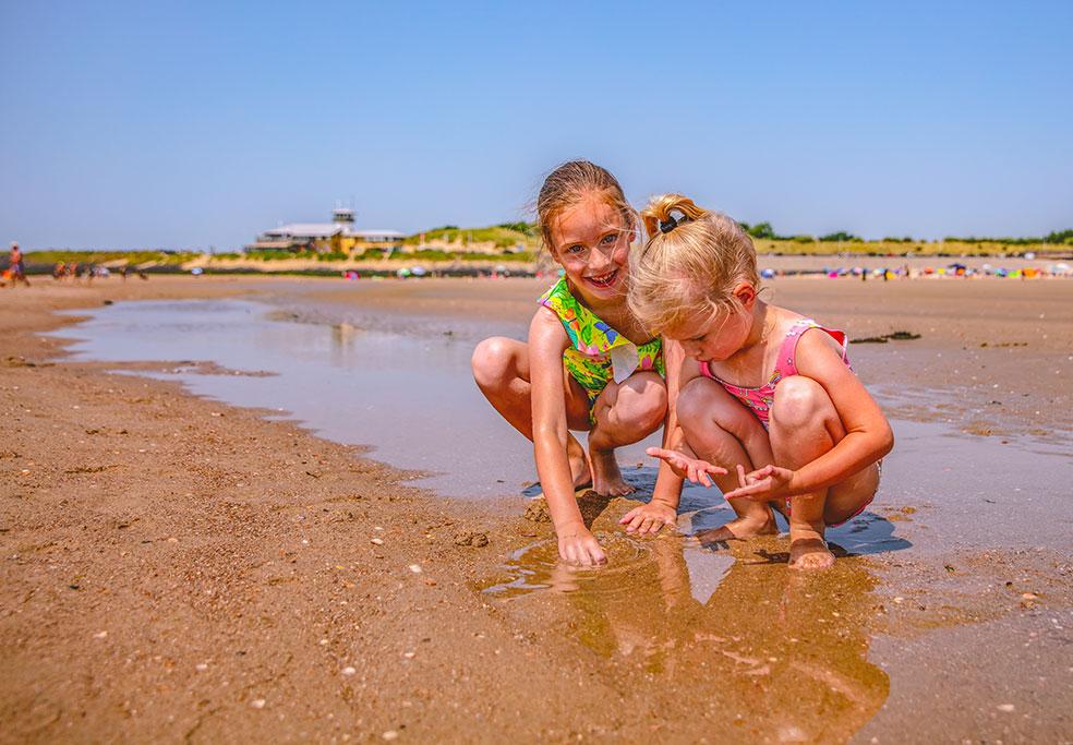 Schouwen-Duiveland met kinderen - strand