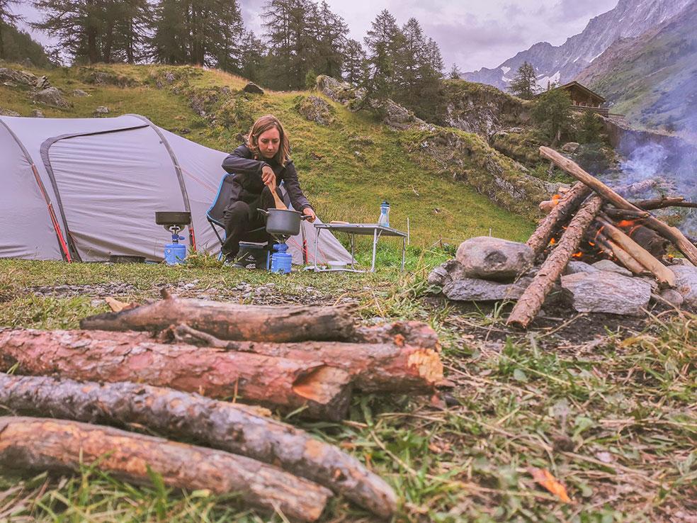 Camping Fafleralp - Kamperen in Zwitserland met kinderen