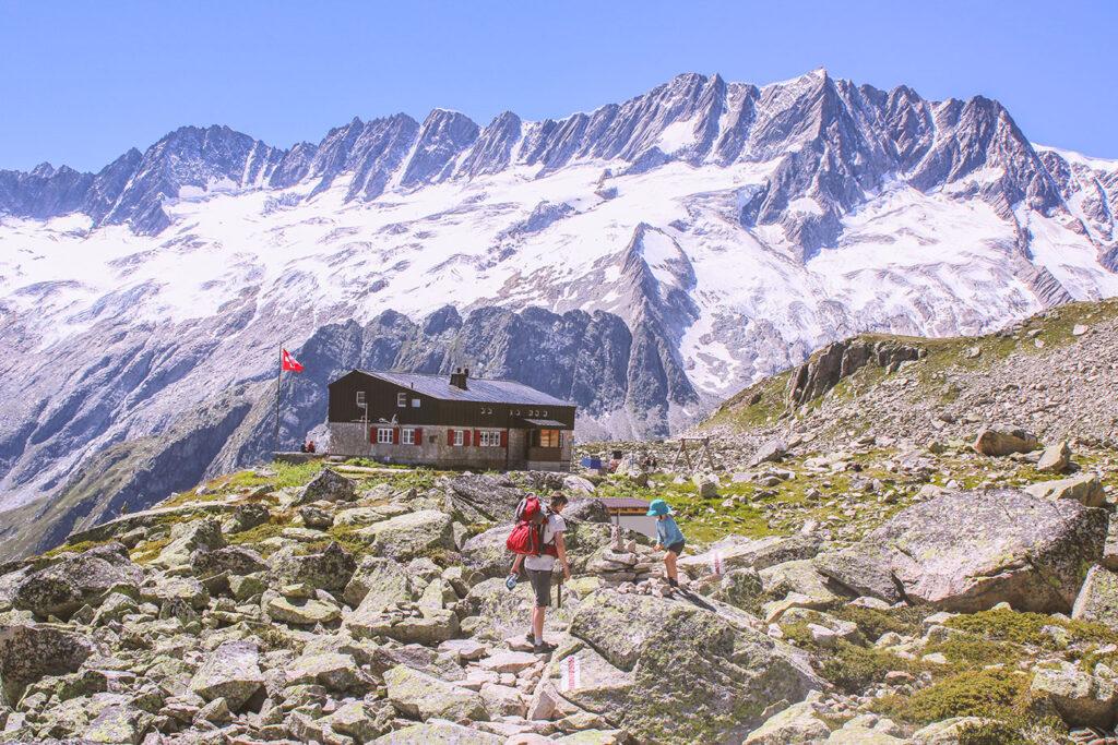 Kamperen in Zwitserland: de route van Elke en haar gezin