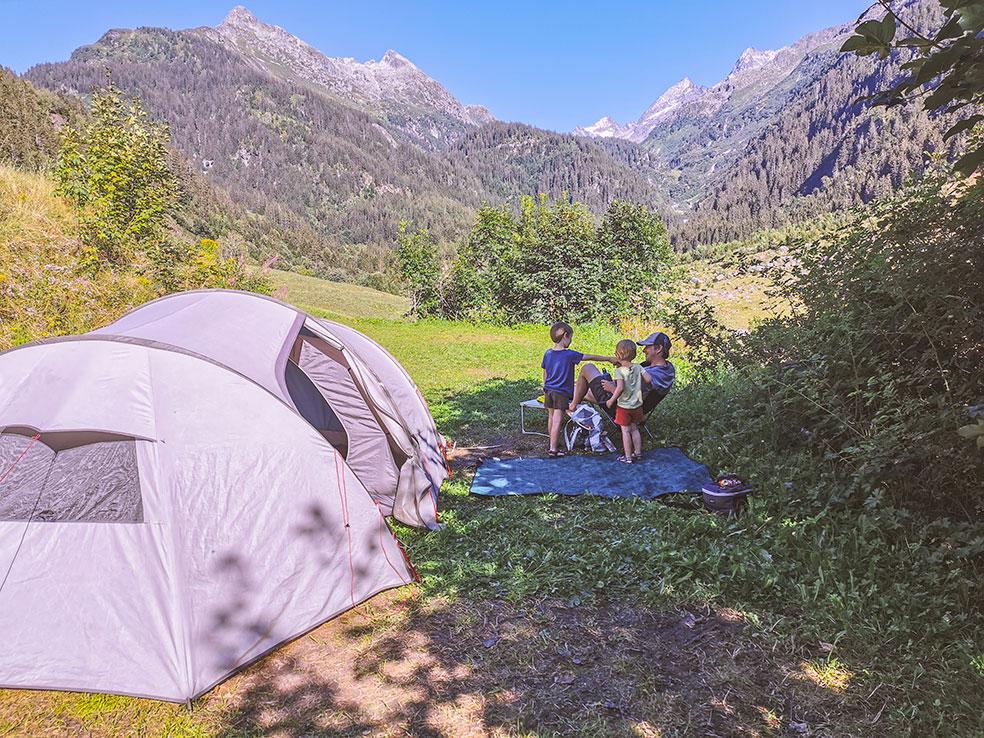 Camping Gadmen - kamperen in Zwitserland