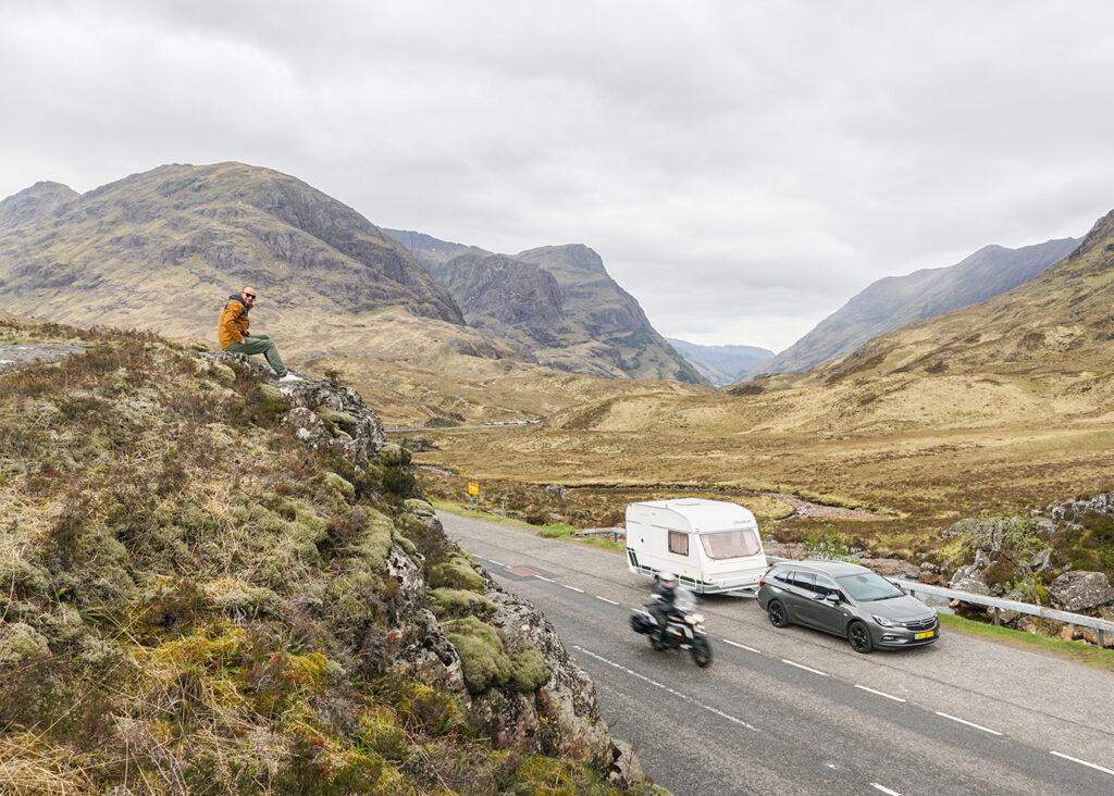 Op roadtrip met een caravan, kan dat?