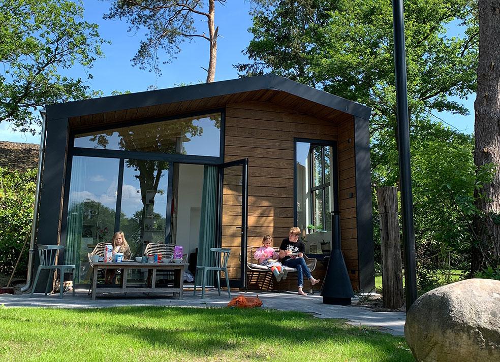 Slapen in een Tiny house in Twente met kinderen
