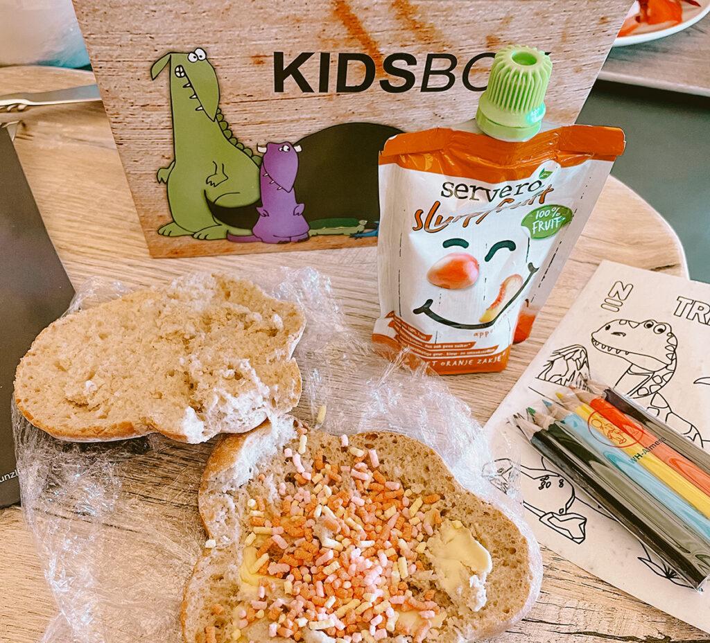 Lunchen in Naturalis